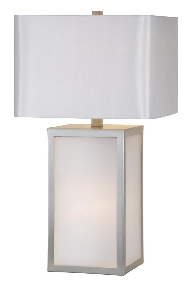 Ren-Wil Blair Castle Table Lamp - Satin Nickel