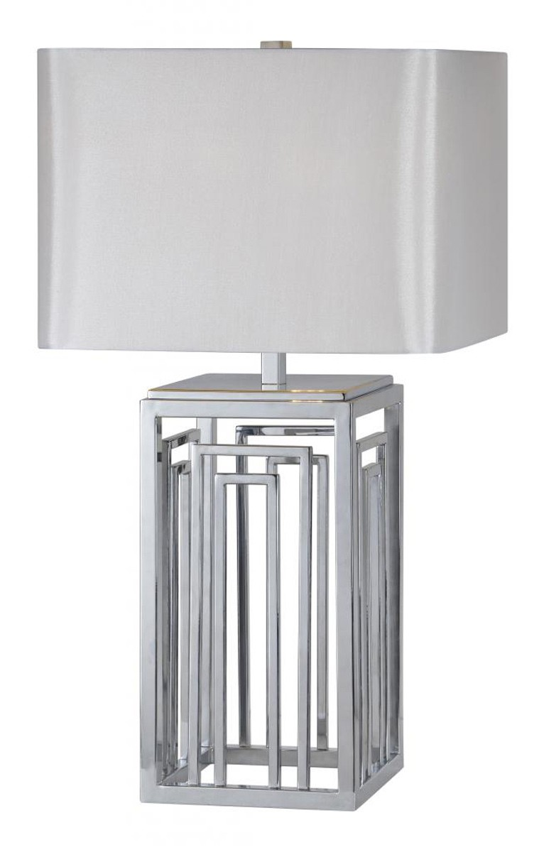 Ren-Wil Nagaski Table Lamp - Chrome