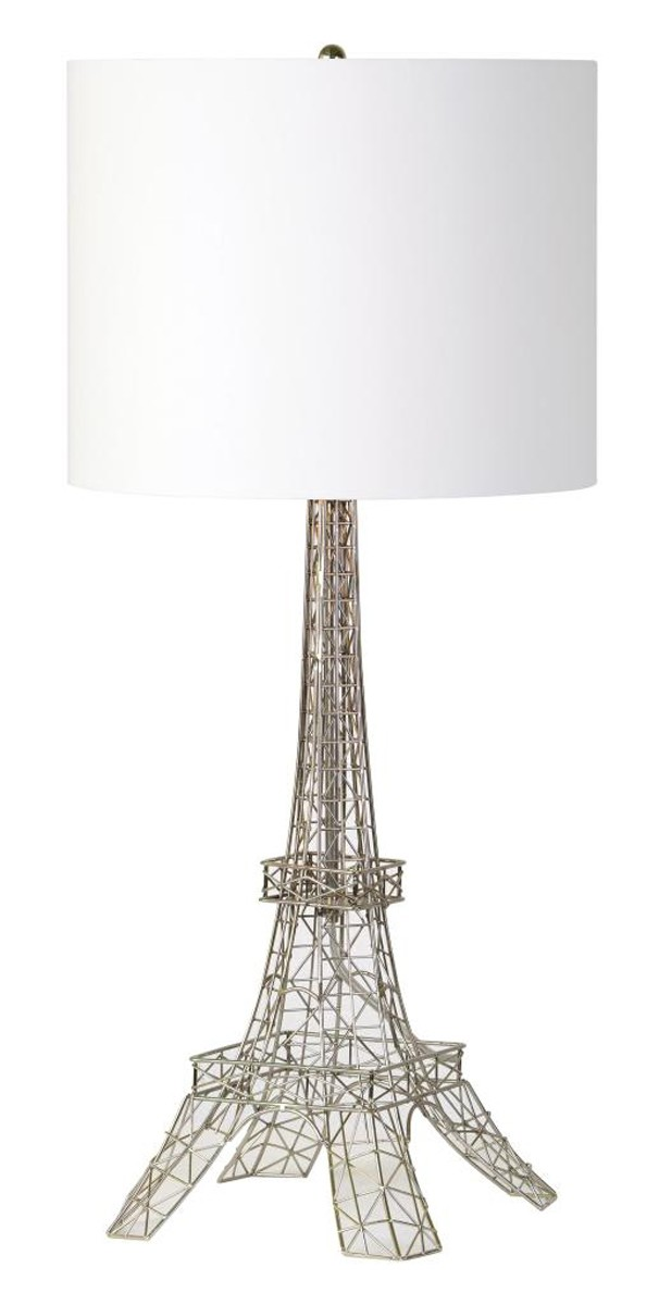 Ren-Wil Gustave Table Lamp - Antique Silver