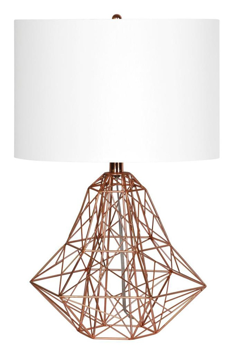 Ren-Wil Cipher Table Lamp - Copper