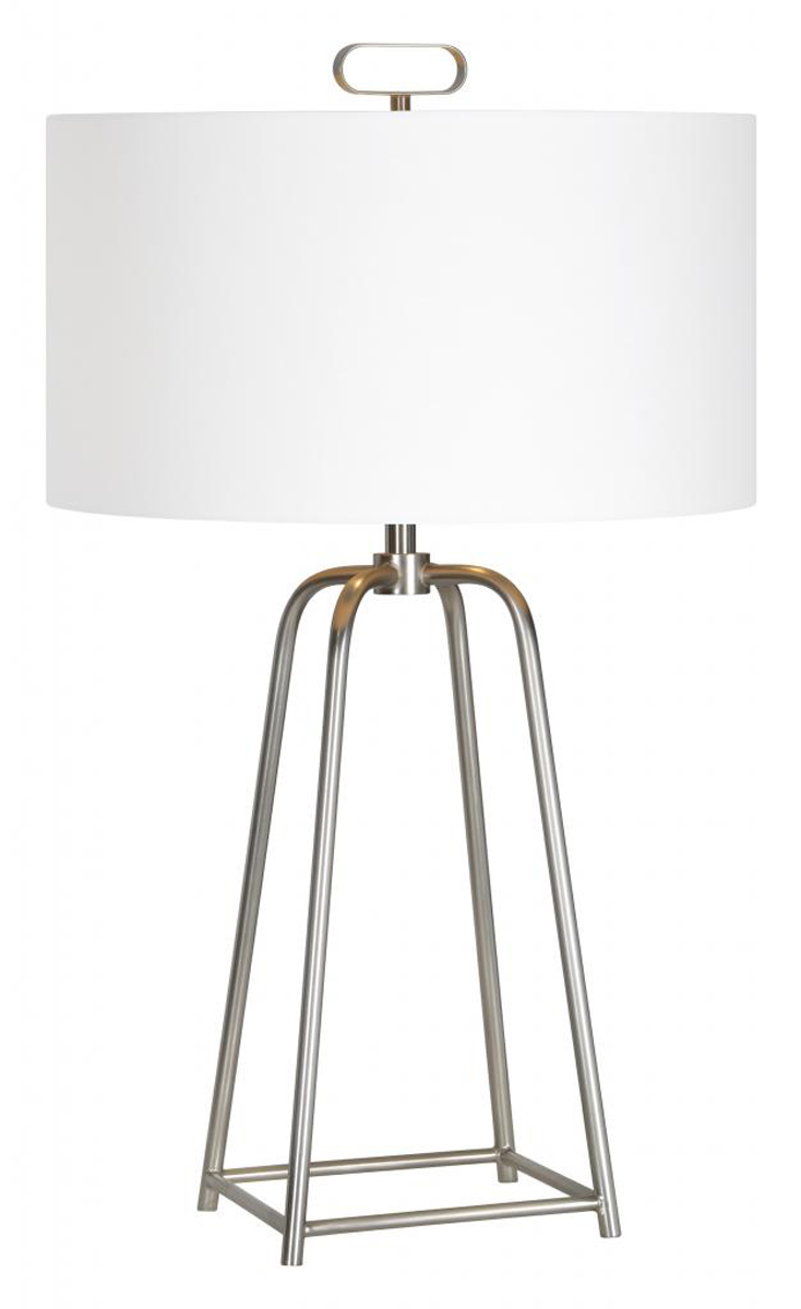 Ren-Wil Bodice Table Lamp - Satin nickel