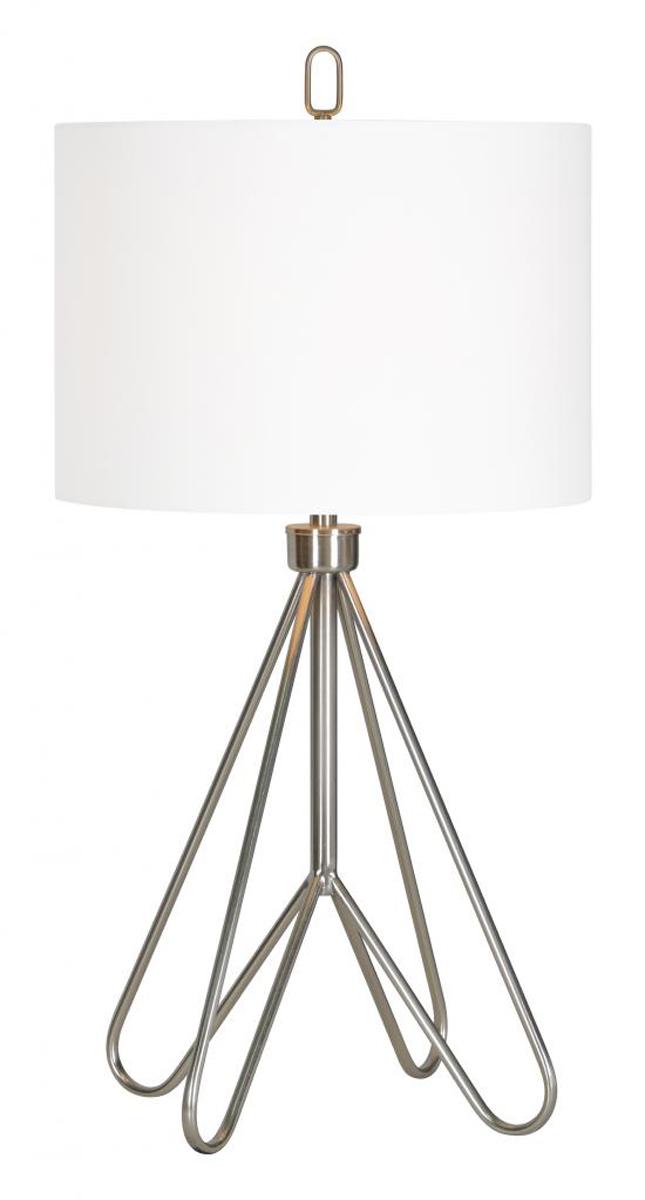 Ren-Wil Dorset Table Lamp - Satin nickel