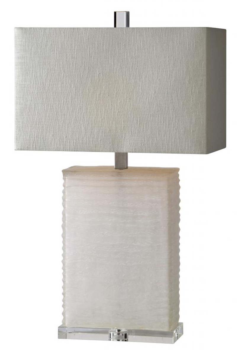 Ren-Wil Euler Table Lamp - White sand blast