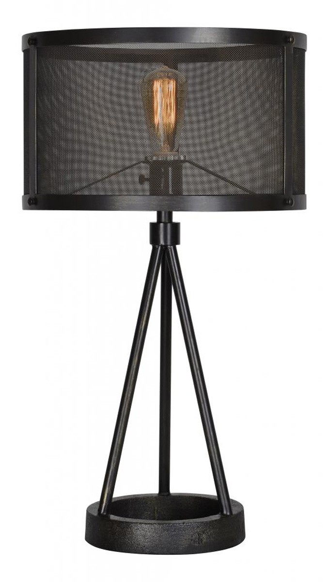 Ren-Wil Livingstone Table Lamp - Black