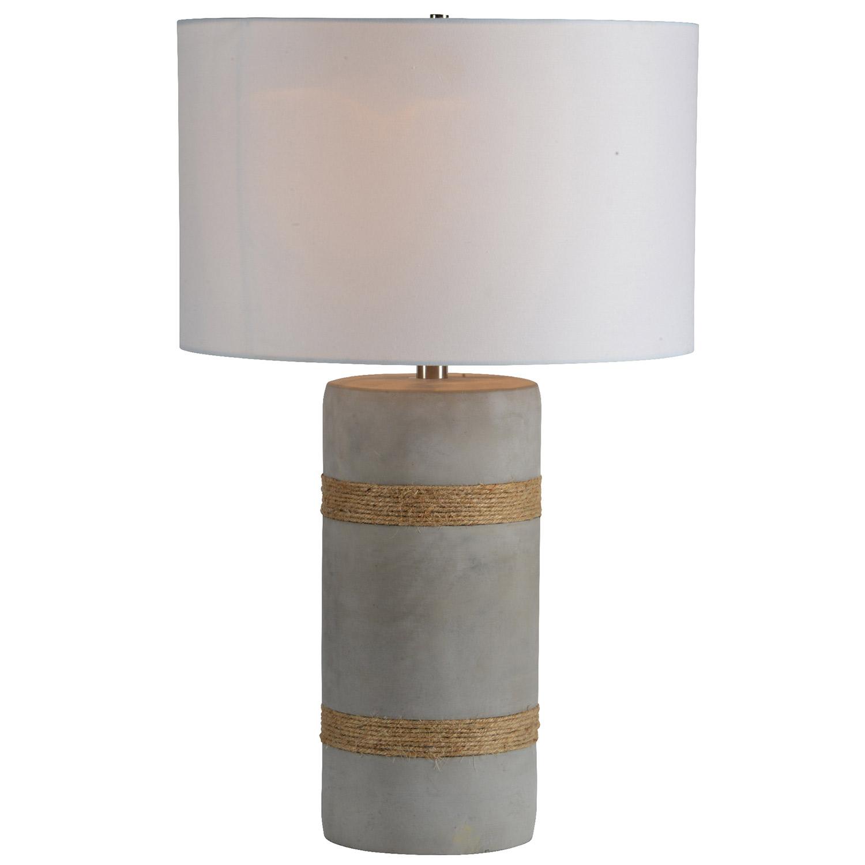 Ren-Wil Malden Table Lamp - Rope Detail
