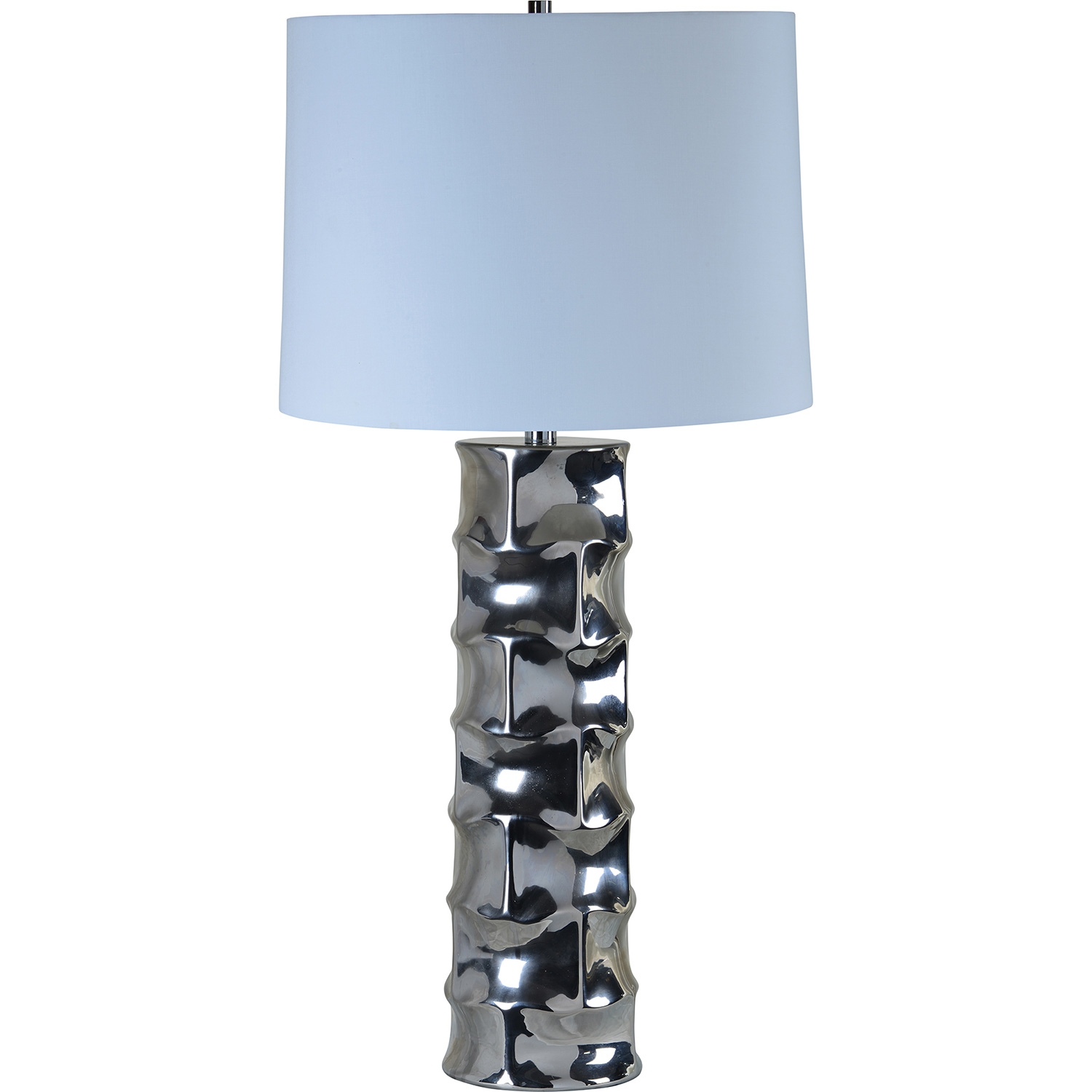 Ren-Wil Quenby Table Lamp - Silver Plated
