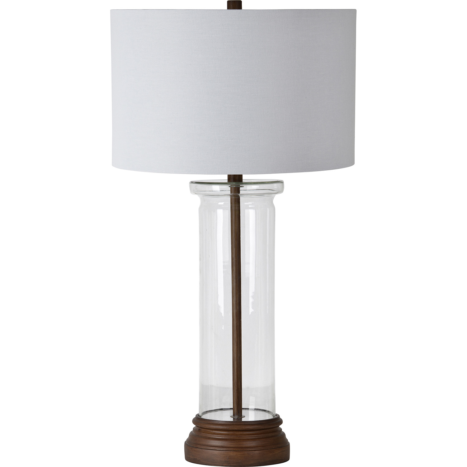Ren-Wil Summerby Table Lamp - Wood Grain