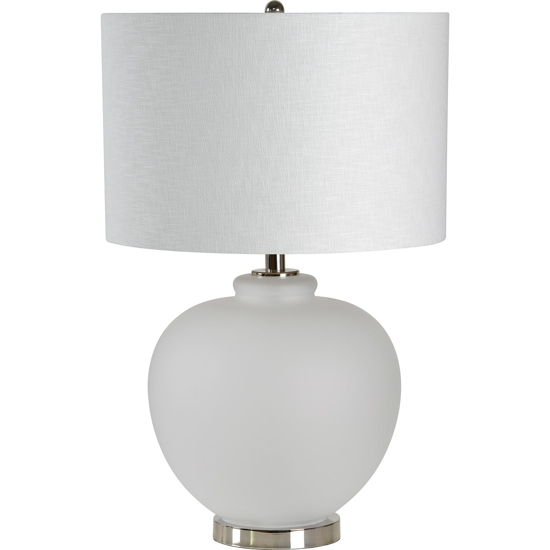 Ren-Wil Creemore Table Lamp - Nickel