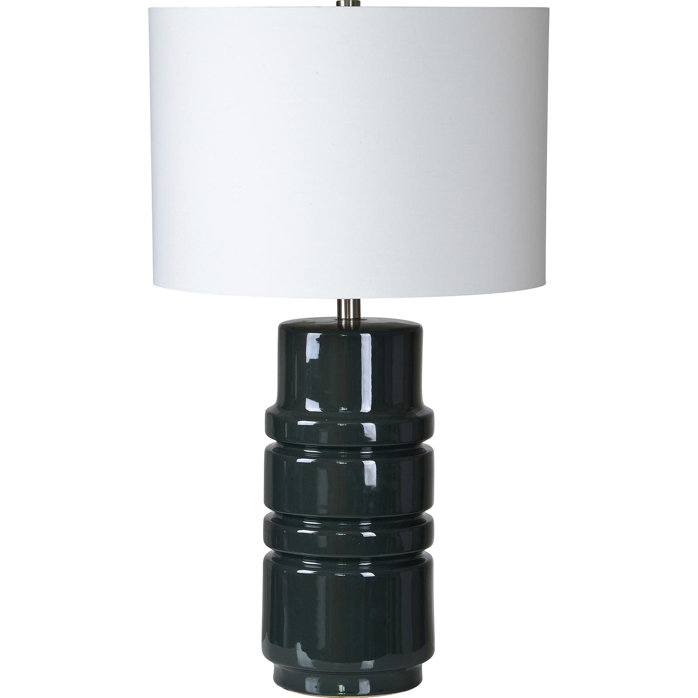 Ren-Wil Caldwell Table Lamp - Dark Grey Blue