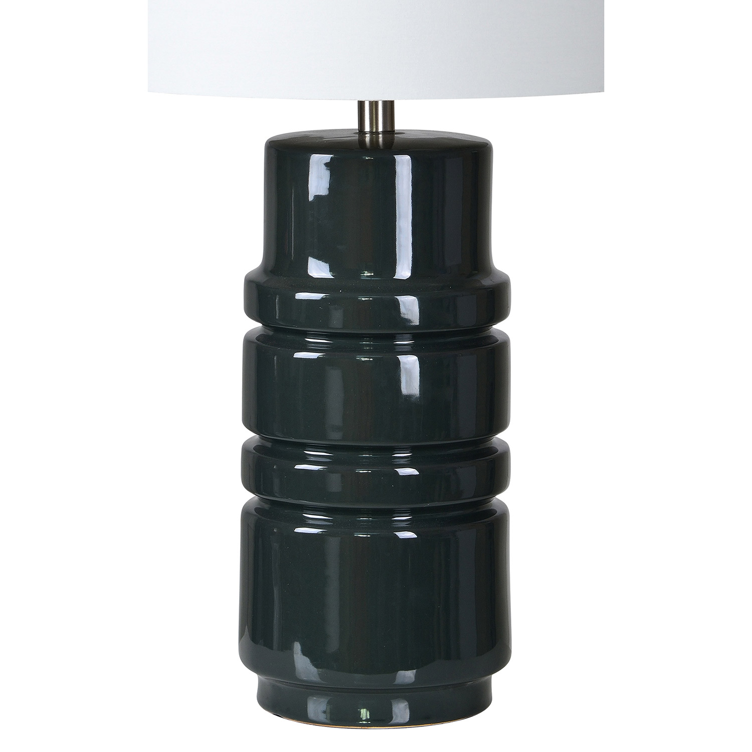 Ren-Wil Caldwell Table Lamp - Dark Grey Blue