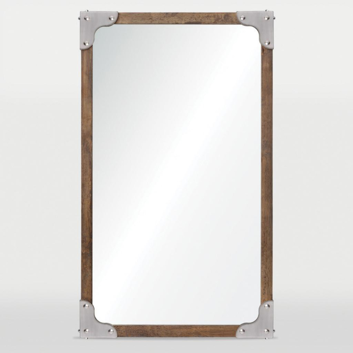 Ren-Wil Advocate Mirror - Satin Nickel