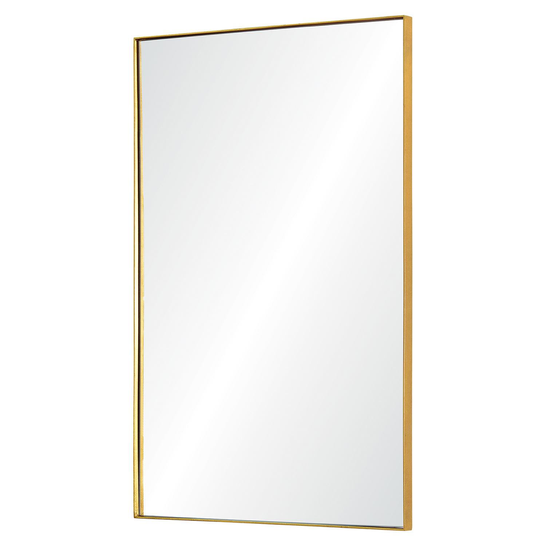 Ren-Wil Florence Rectangular Mirror - Gold Leaf