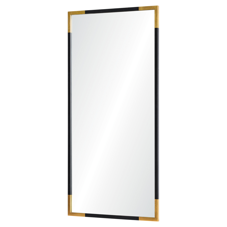 Ren-Wil Osmond Rectangular Mirror - Gold/Black