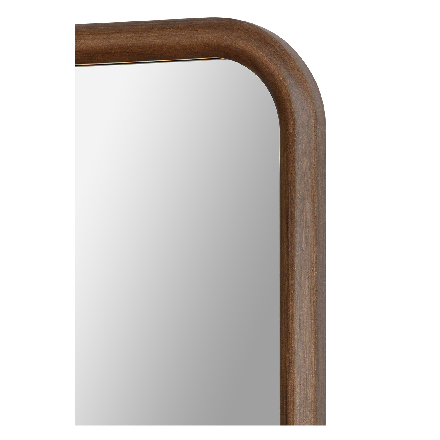 Ren-Wil Dickens Rectangular Mirror - Wood