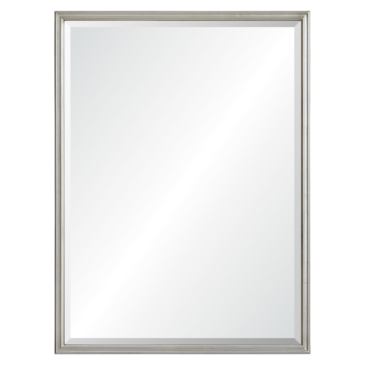 Ren-Wil Cosgrove Rectangular Mirror - Antique Silver