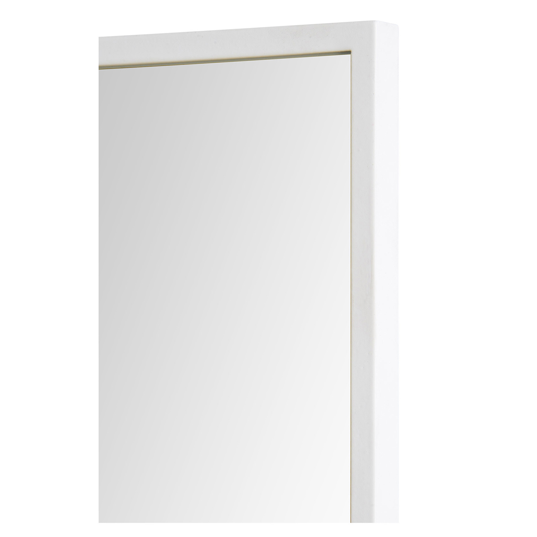 Ren-Wil Reynolds Rectangular Mirror - White
