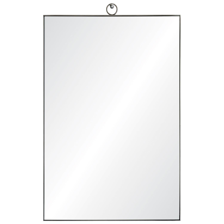 Ren-Wil Eastwick Rectangular Mirror - Stainless Steel