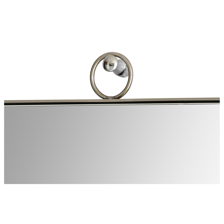 Ren-Wil Filbert Rectangular Mirror - Stainless Steel