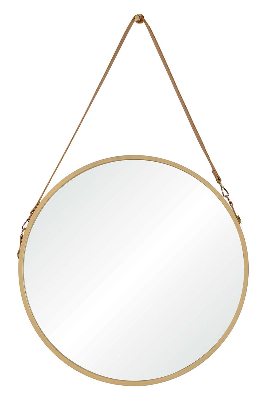 Ren-Wil Cupola Round Mirror - Veneers