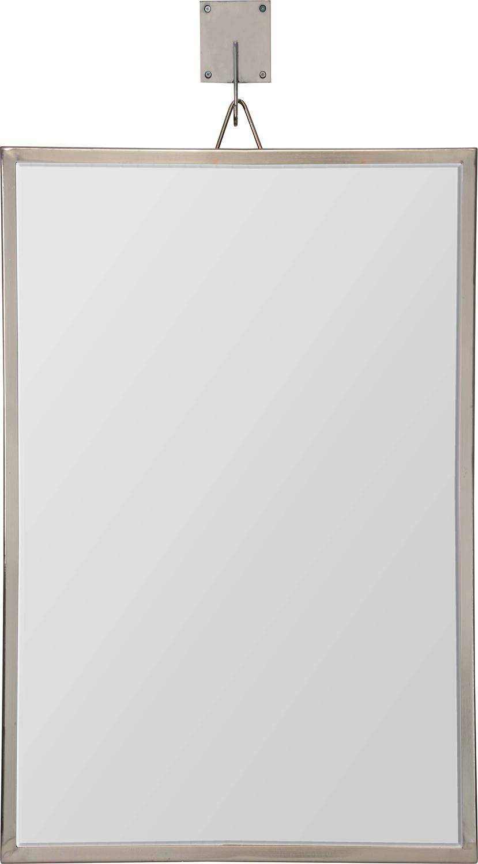 Ren-Wil Ronan Rectangular Mirror - Pewter Plated