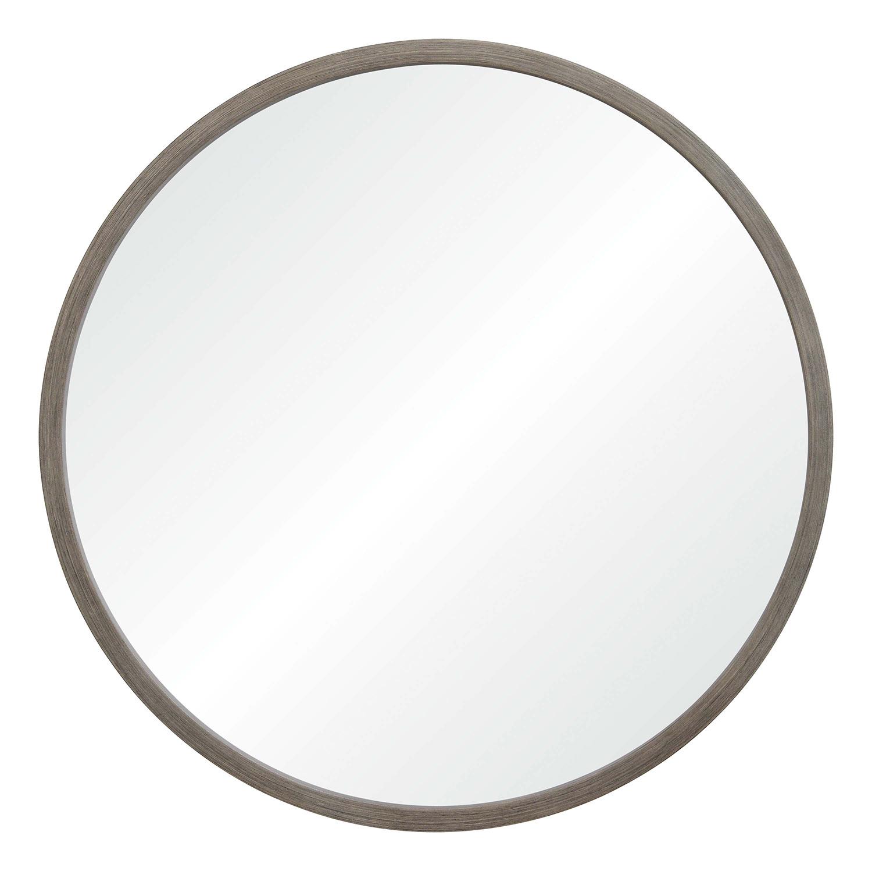 Ren-Wil Birman Round Mirror - Gray