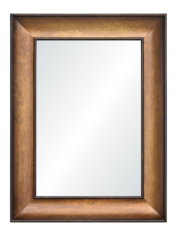 Ren-Wil Atman Rectangular Mirror - Bronze Painted