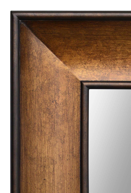 Ren Wil Atman Rectangular Mirror Bronze Painted Rw