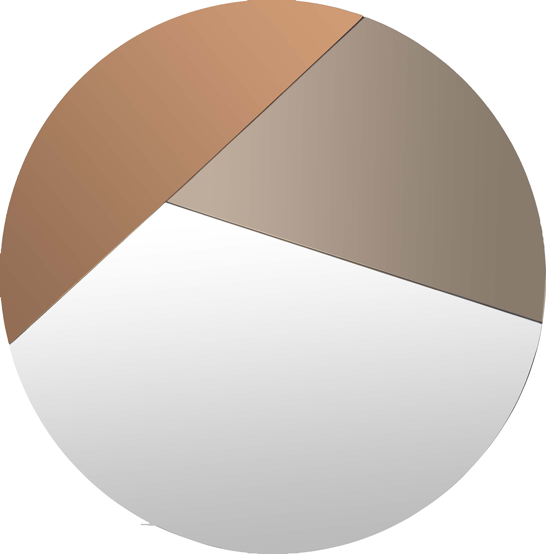 Ren-Wil Novello Round Mirror