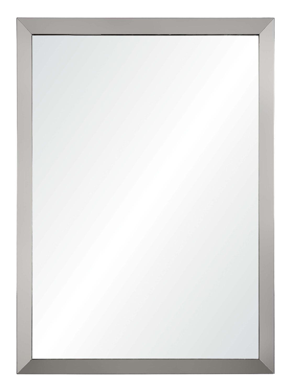 Ren-Wil Maverick Rectangular Mirror - Satin Nickel Plated