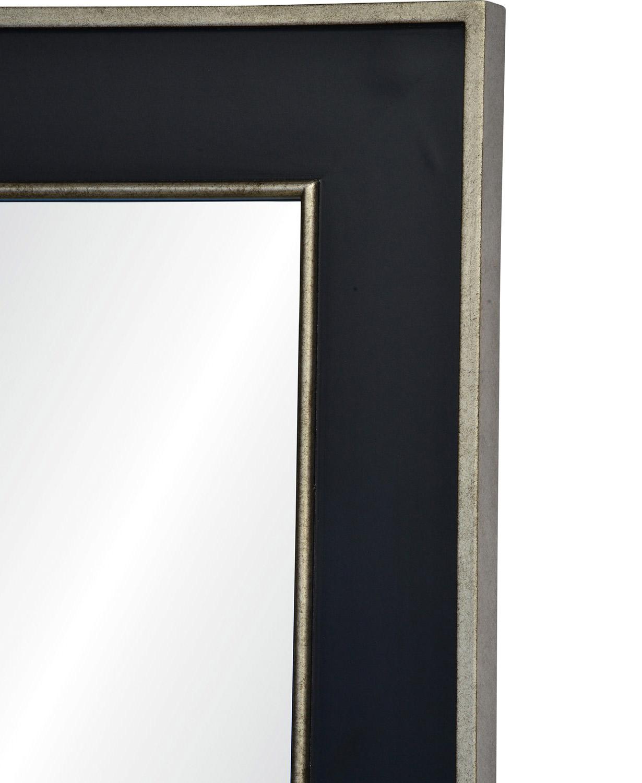Ren-Wil Maddox Rectangle Mirror - Antique Sliver/Black