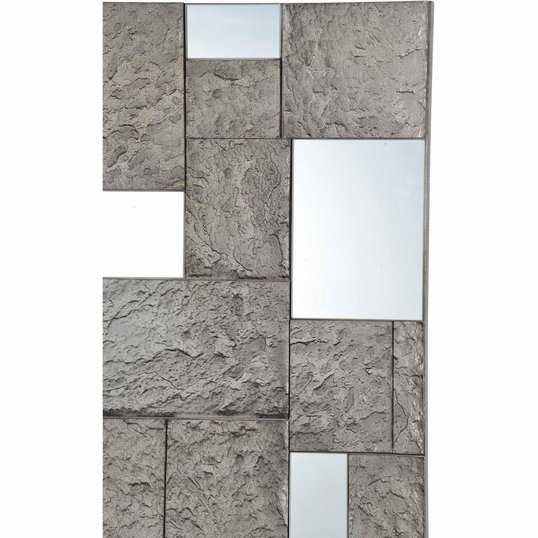 Ren-Wil Sought Square Mirror - Cement