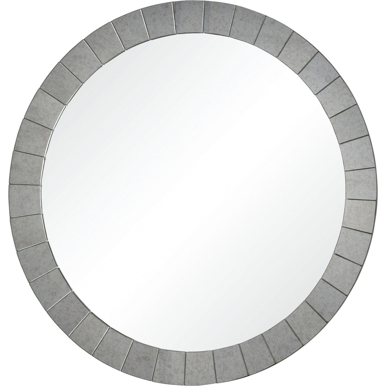 Ren Wil Sammy Round Mirror Antique Mirror Rw Mt2276 At