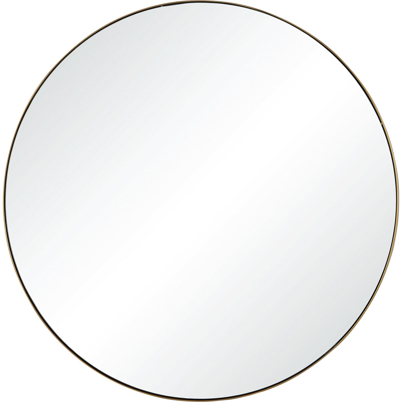 Ren-Wil Witham Round Mirror - Gold Paint