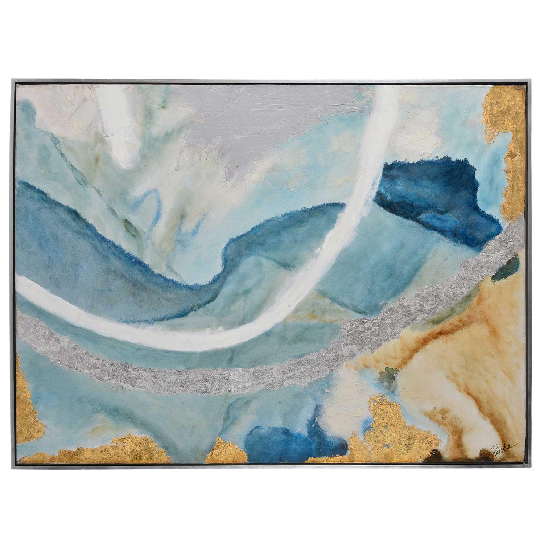 Ren-Wil Tide Pool II Canvas Painting - Matte