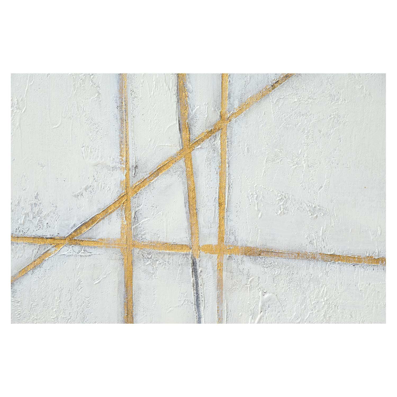 Ren-Wil Glacier Canvas Painting - Gold Leaf