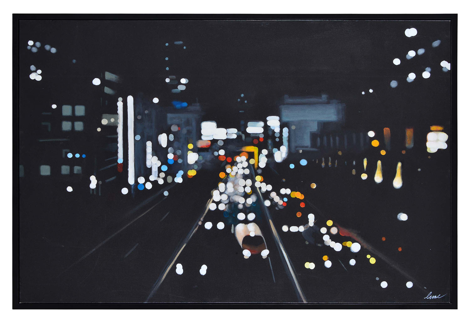 Ren-Wil Otto Canvas Painting - Black