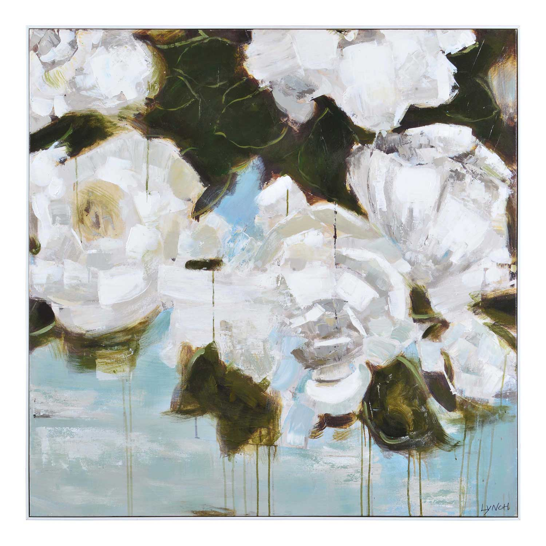 Ren-Wil Corvus Canvas Painting - White