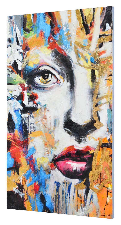 Ren-Wil Ara Canvas Painting - Mutli