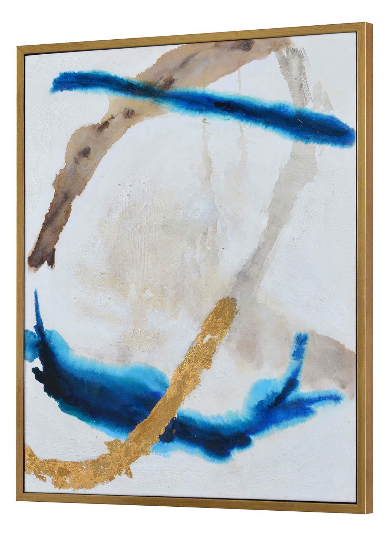 Ren-Wil Kuma Canvas Painting - Gold
