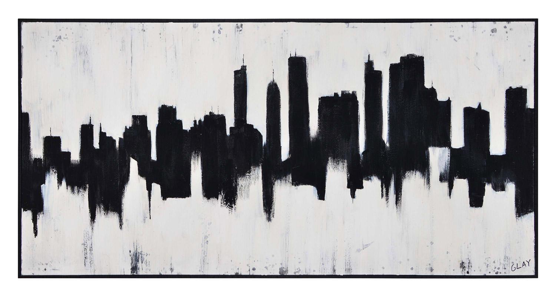 Ren-Wil Barnes Canvas Painting - Black