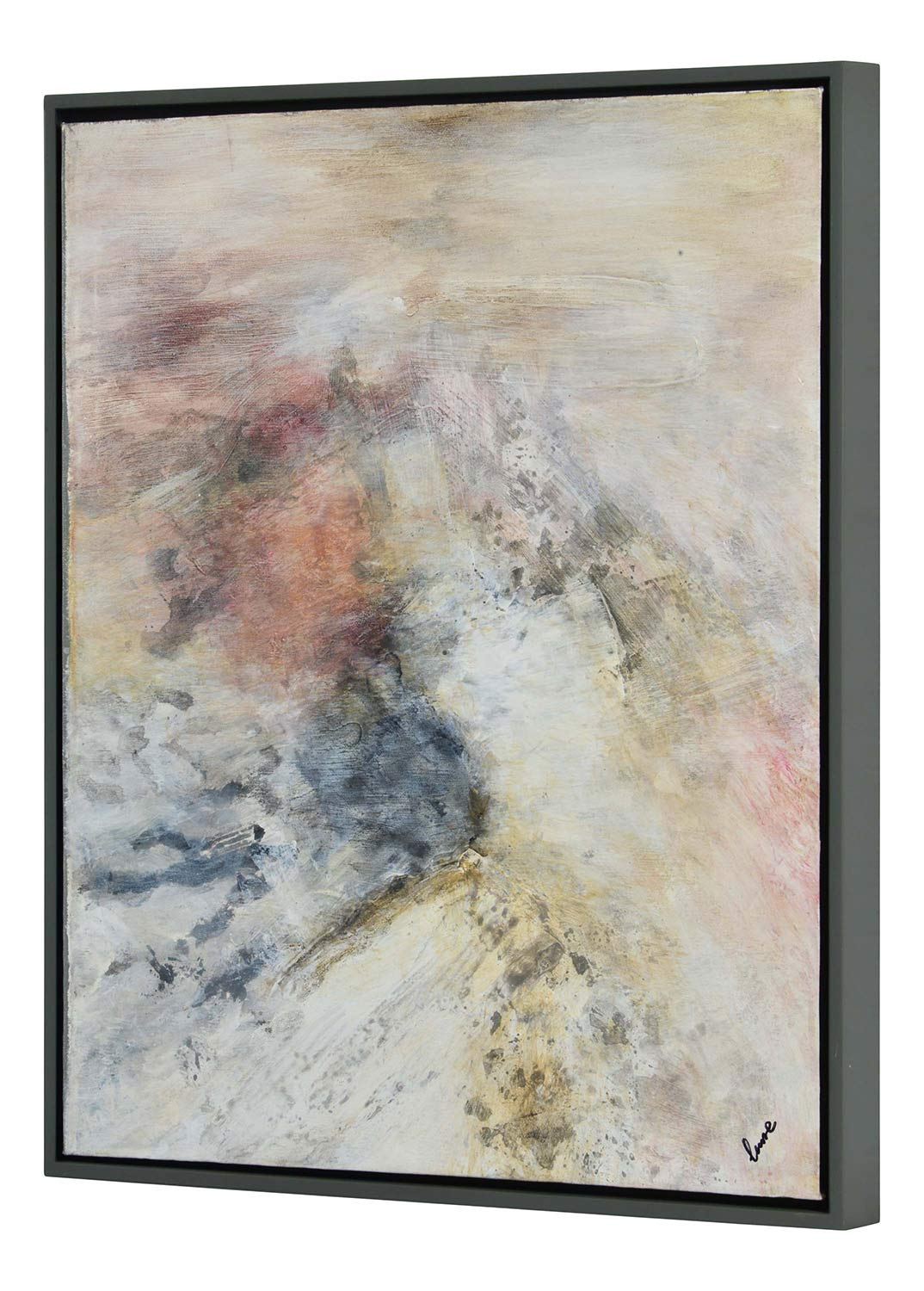 Ren-Wil Astrid Canvas Painting - Grey