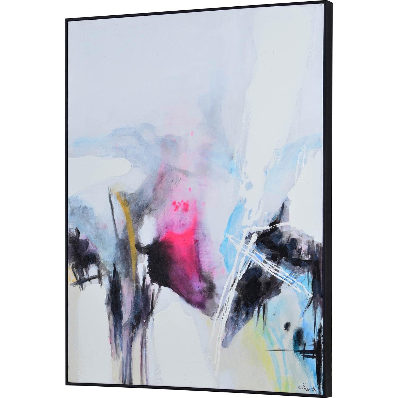 Ren-Wil Elma Canvas Art - Matte/High Gloss Accent/Black