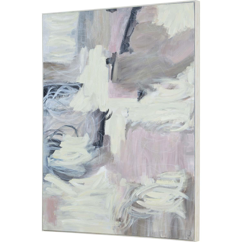 Ren-Wil Elitan Canvas Art - Matte/White Timber