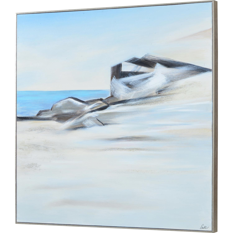 Ren-Wil Edale Canvas Art - Matte/Silver