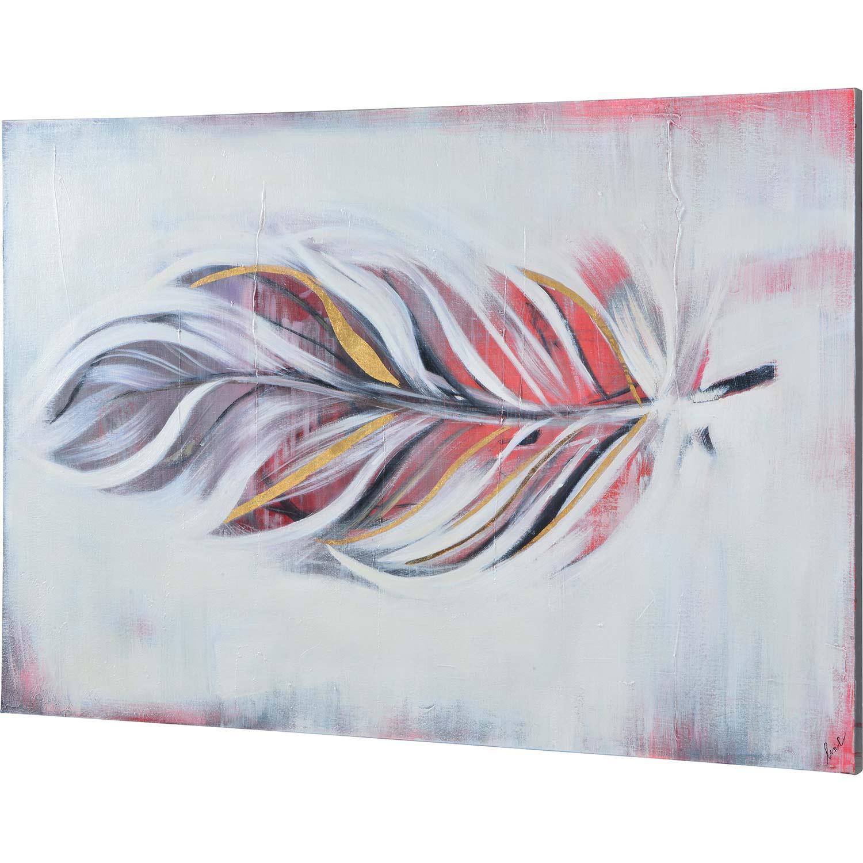 Ren-Wil Canto Canvas Art - Matte/Gold Leaf Accent