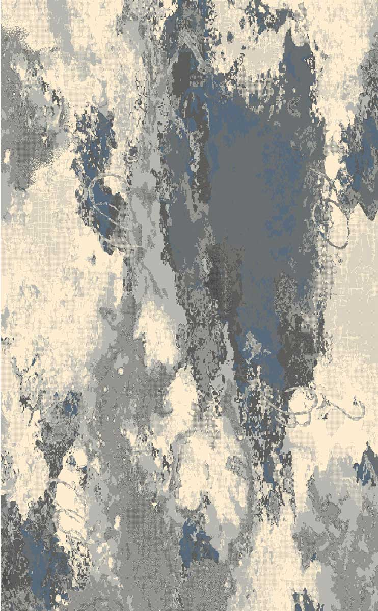 Ren-Wil RCOS-70015-58 Cosmopolitain Rug - Grey