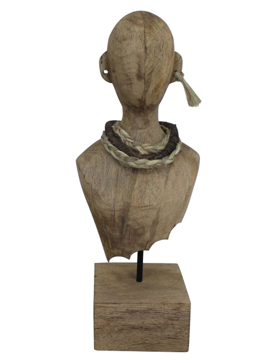 Ren-Wil Destra Sculpture - Natural Finish