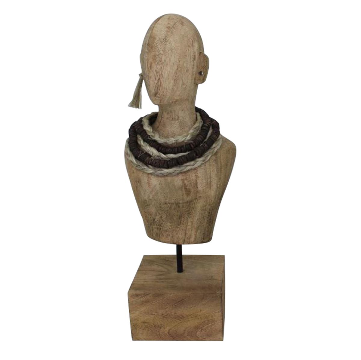 Ren-Wil Sinistra Sculpture - Natural Finish
