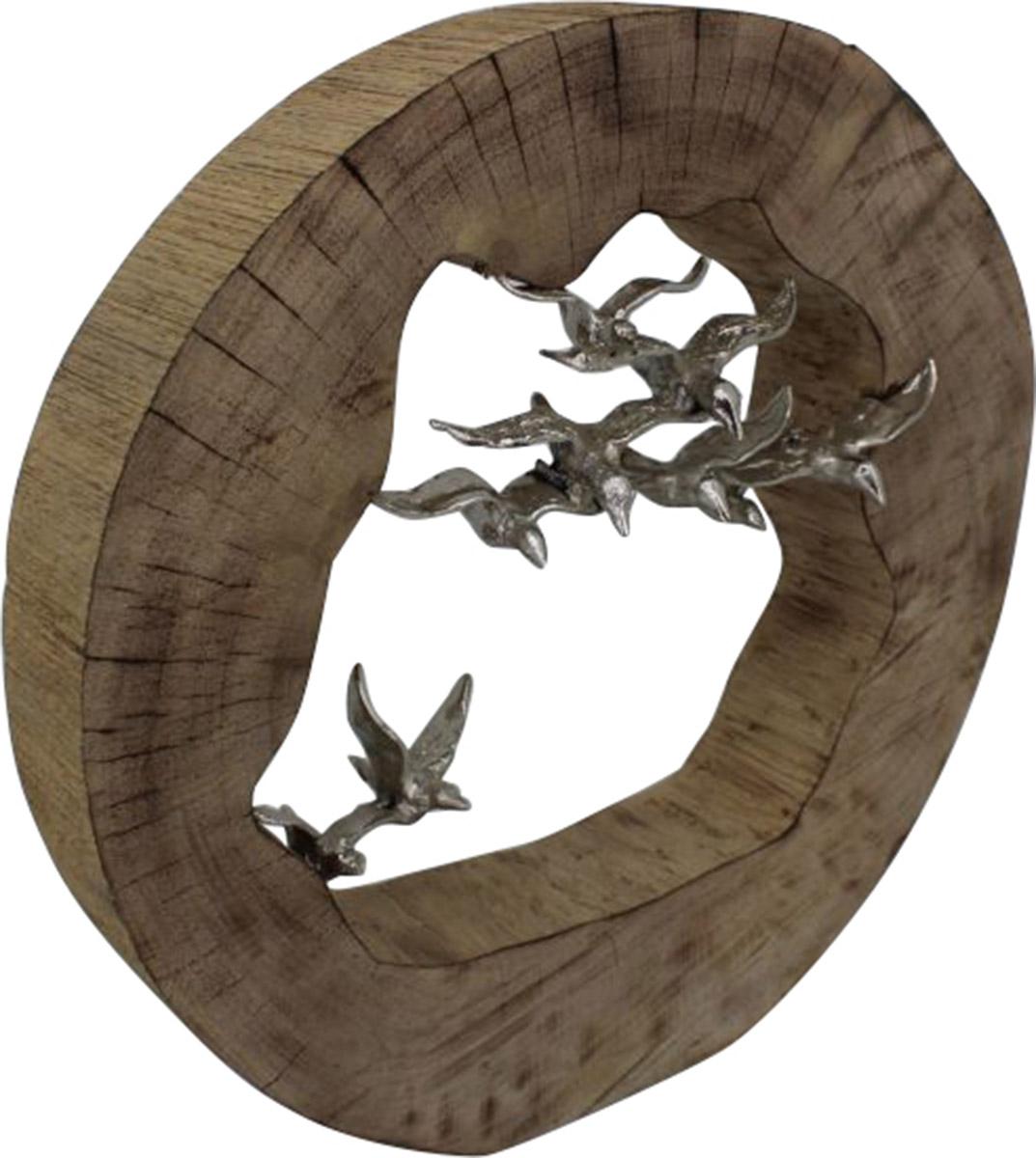 Ren-Wil Hastings Sculpture - Silver/Brown
