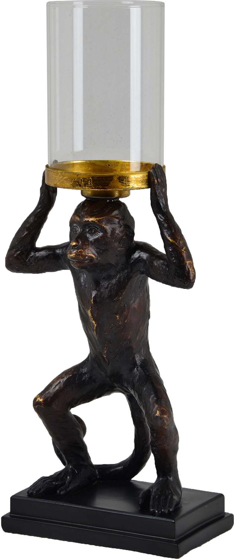 Ren-Wil Leeds Candle Holder - Copper